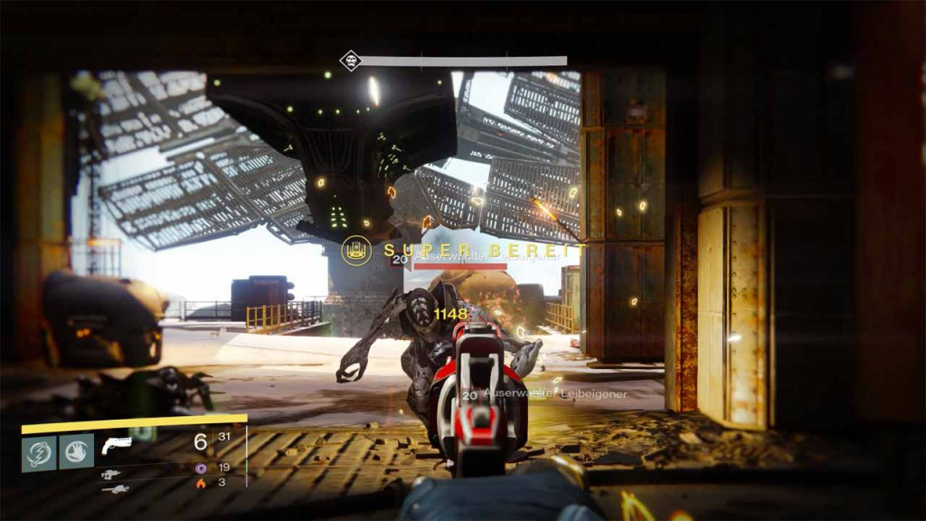 Legendäre Items in der Destiny-Mission die letzte Anlage farmen, Bild: Screenshot Destiny