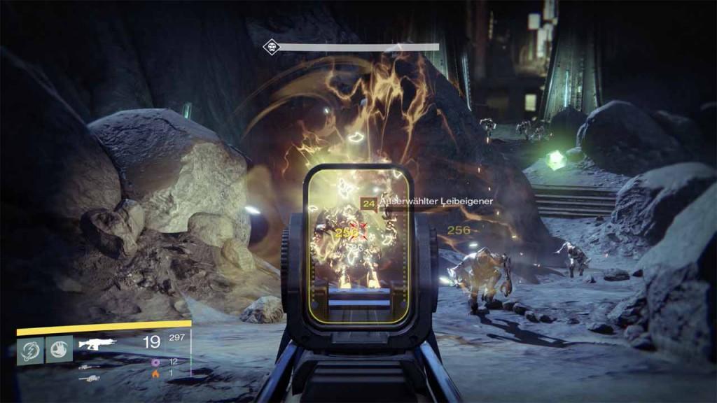 Legendäre Items in der Destiny-Mission das dunkle Jenseits farmen, Bild: Screenshot Destiny