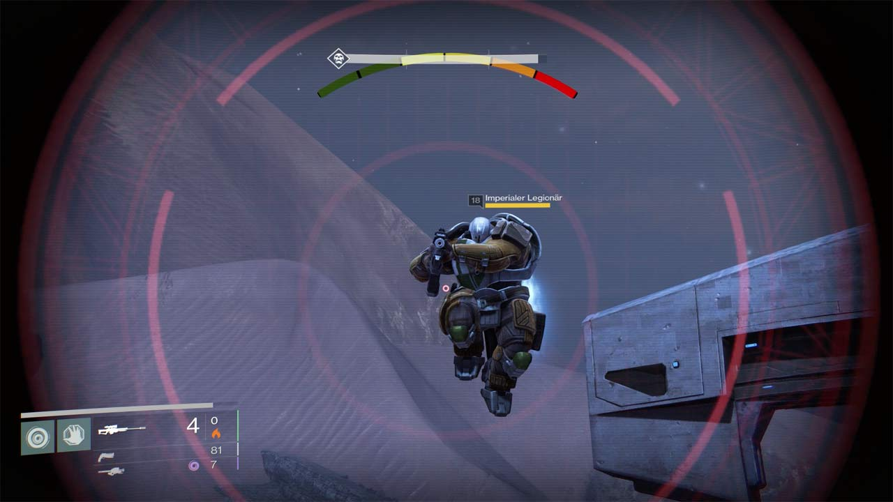 Kabale in der Mission Sperrgebiet farmen, Bild: Screenshot Destiny