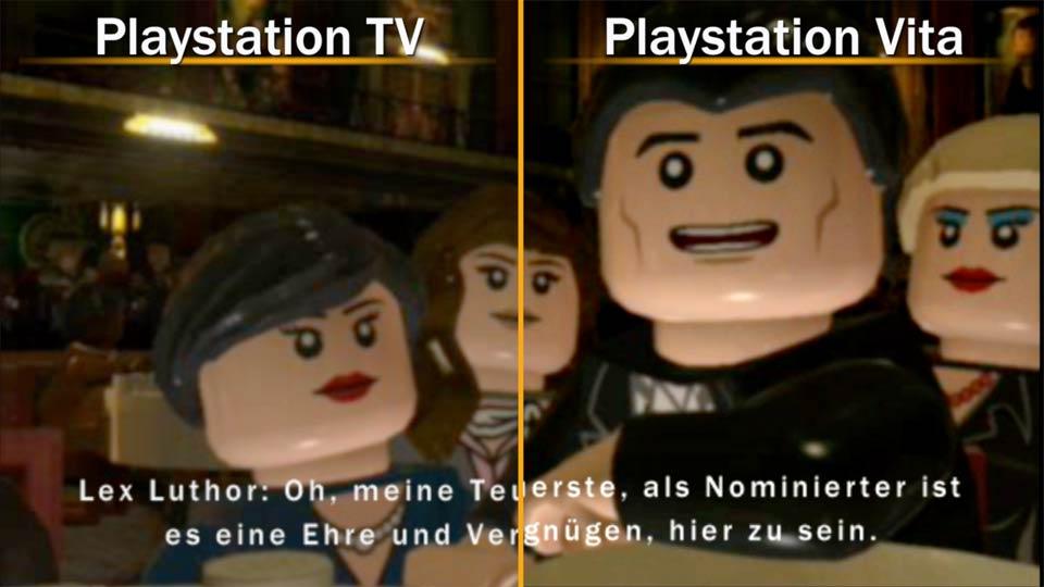 Vita-Spiele sehen auf Vita und Playstation TV annähernd gleich aus. Bild: Screenshot PSTV