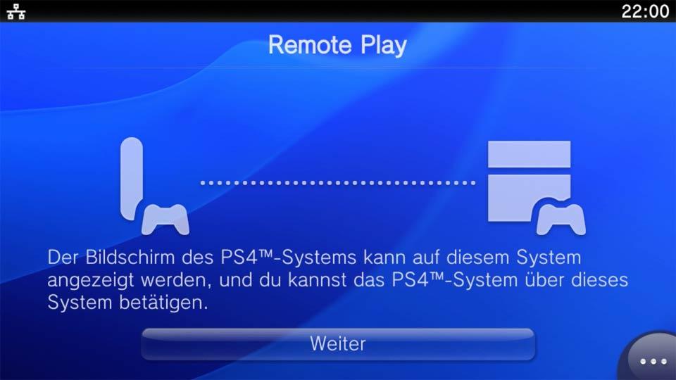 Playstation TV ermöglicht über Remote Play das Spielen von PS4-Spielen in WLAN-Reichweite. Bild: Screenshot PSTV