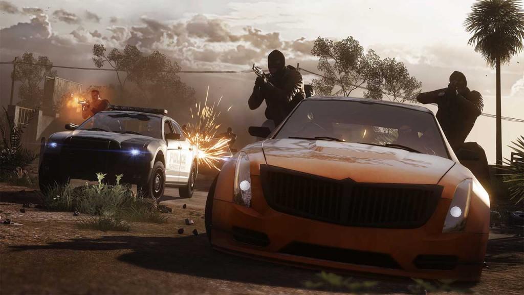 Neuer Hotwire-Modus in Battlefield Hardline, Bild: EA