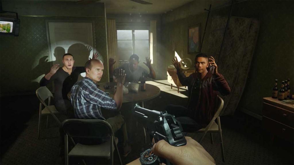 Verhaftung in Battlefield Hardline, Bild: Screenshot