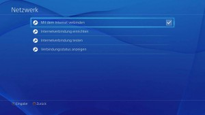 PS4 vom Internet trennen, Bild: Screenshot