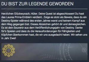 Emblem als Veteranen-Belohnung, Bild: Screenshot Bungie.net