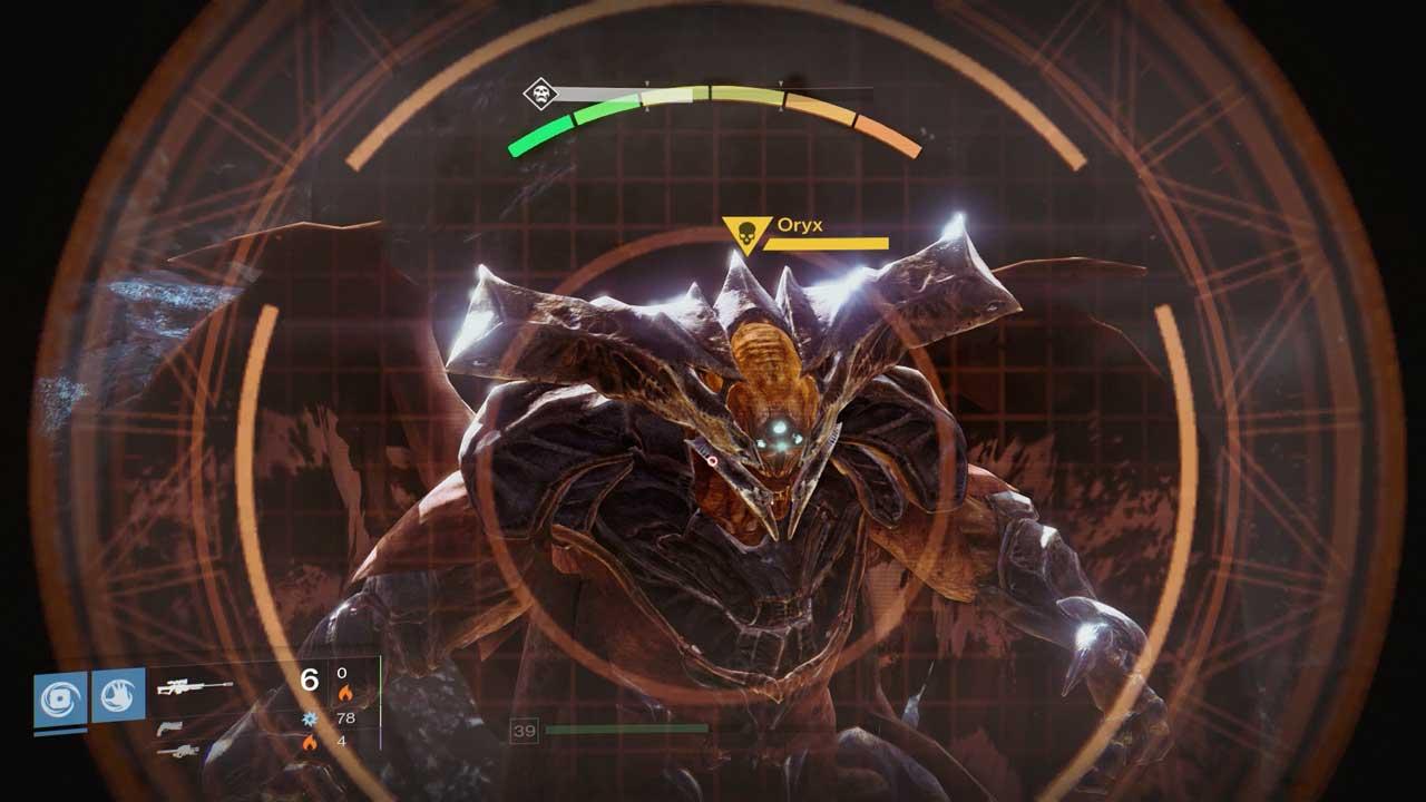 In Oryx steckt eine Mischung aus Sohn Crota und Batman. Bild: Screenshot Destiny