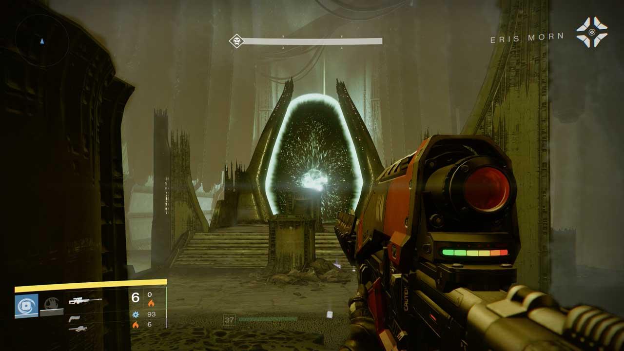 Aus dem Riss in Destiny-Mission Feind meines Feindes kommt nichts Gutes, Bild: Screenshot