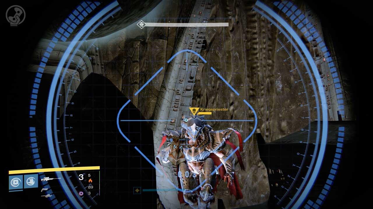 Kriegspriester im Raid Königsfall, Bild: Screenshot Destiny