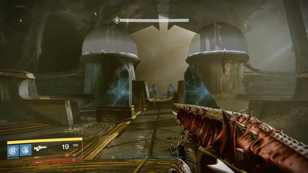 Oryx Töchter Ir Anûk und Ir Halak im Raid Königsfall, Bild: Screenshot Destiny