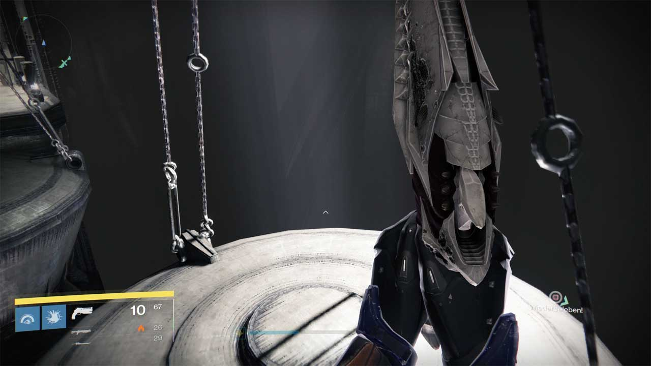 Betonpendel im Raid Königsfall, Bild: Screenshot Destiny