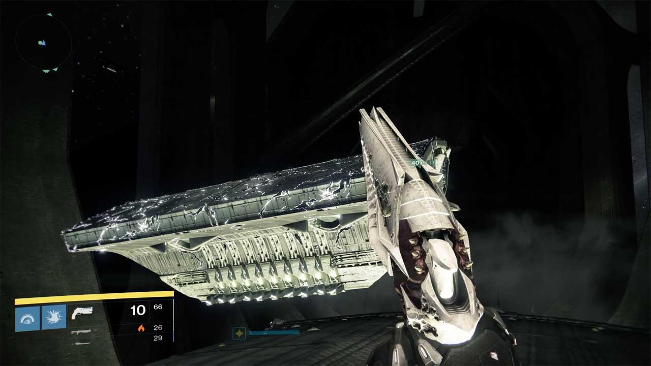 Das Schiffs-Puzzle bringt euch an die Grenzen der Sprungkraft, Bild: Screenshot Destiny