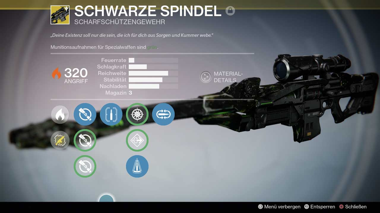 Schwarze Spindel, Bild: Screenshot Destiny