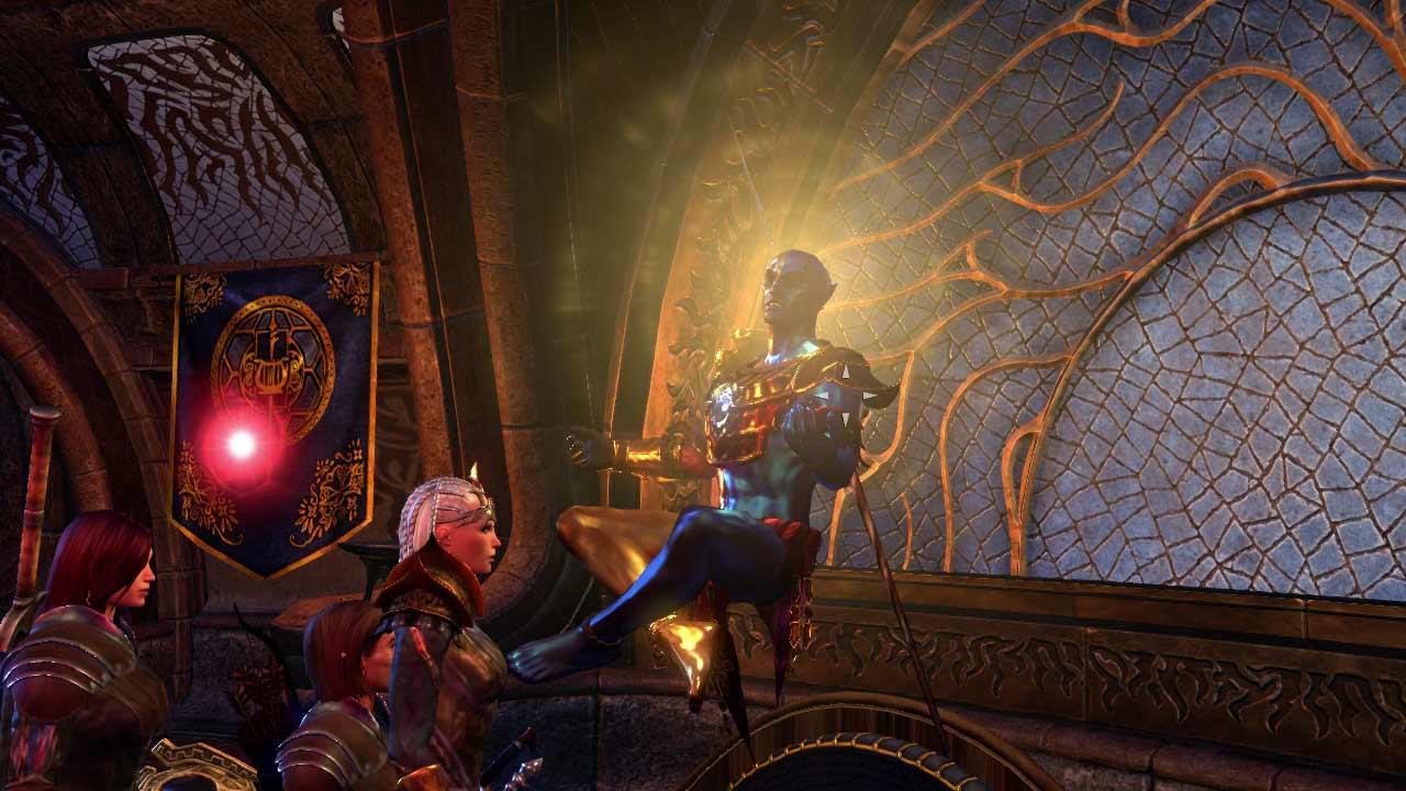 Die Morrowind-Story dreht sich um Fürst Vivecs schwindende Kraft. Bild: Screenshot ESO