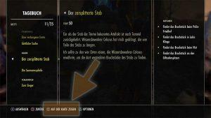Quest-Ziel auf der Karte anzeigen