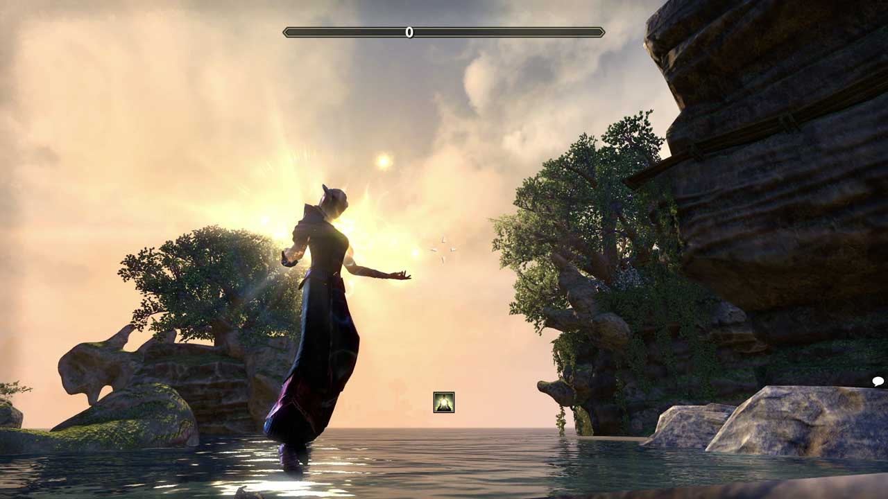 Meditieren in ESO, Bild: Screenshot Elder Scrolls Online