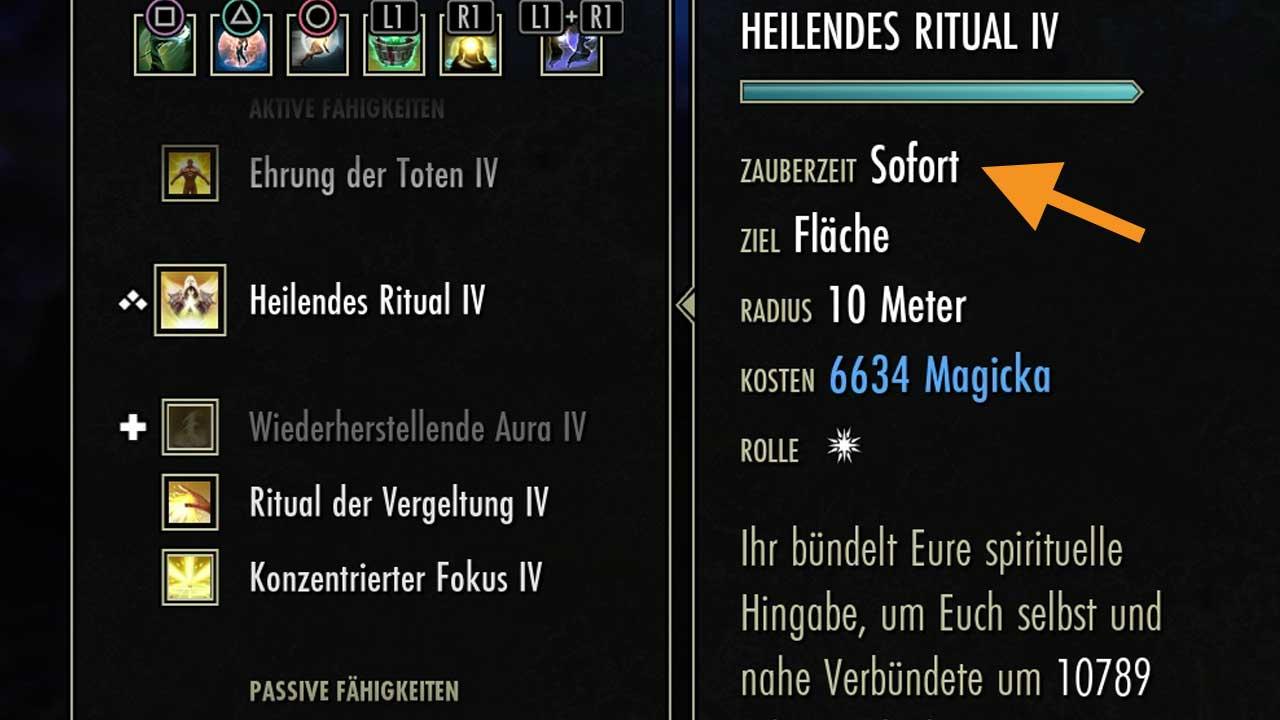 Heilendes Ritual in ESO Update 18