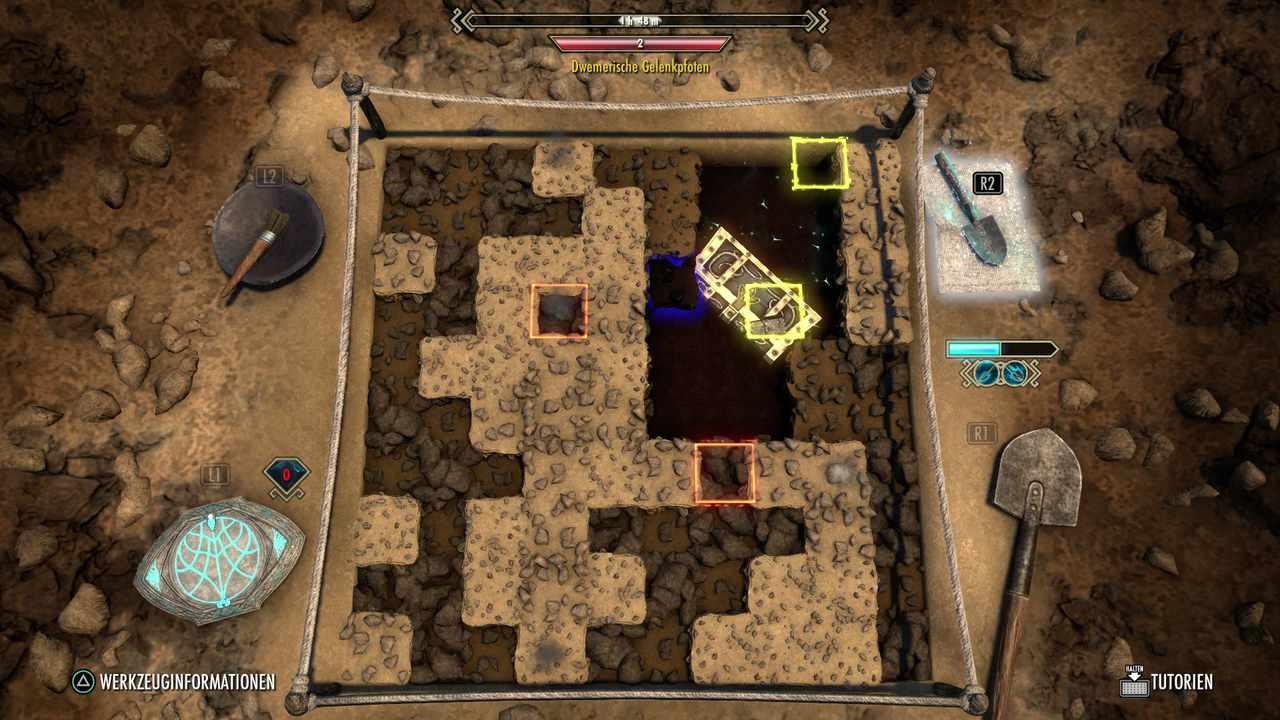 Ausgrabung von Antiquitäten in Elder Scrolls Online Greymoor