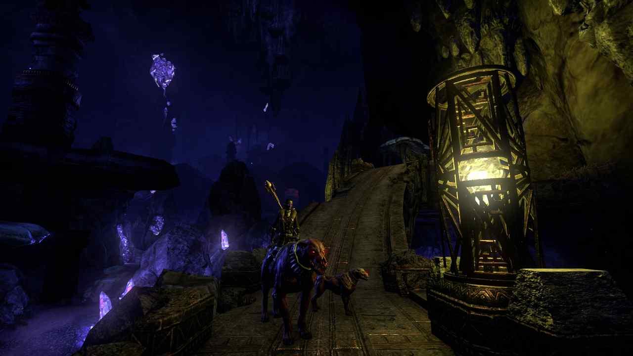 Dunkelmondgrotte in Elder Scrolls Online Greymoor