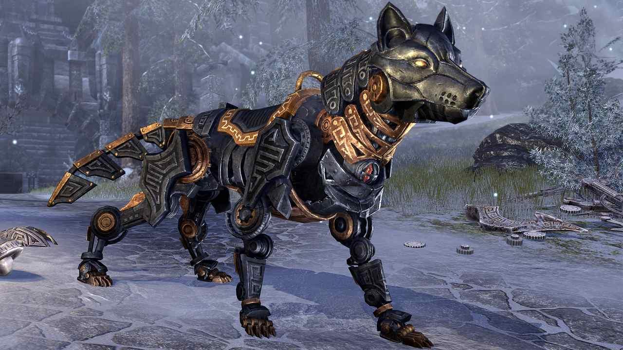Ebenerz-Dwemerwolf in Elder Scrolls Online Greymoor
