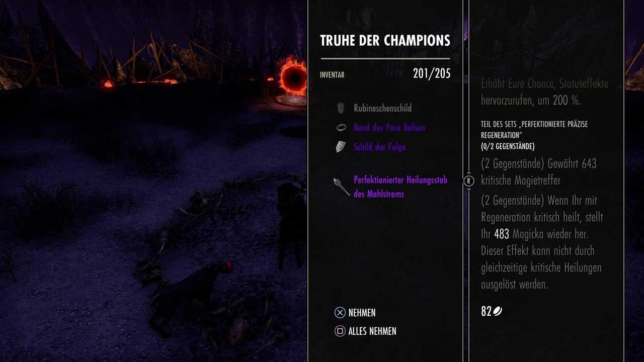 Perfektionierte Mahlstrom-Waffe in Elder Scrolls Online Greymoor
